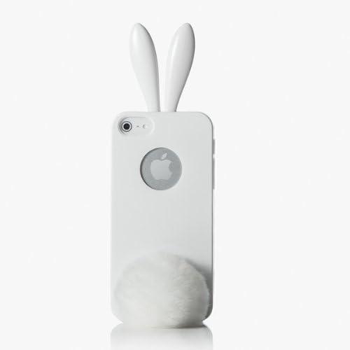 Rabito - Cover per iPhone 5S / 5 con orecchie e coda da coniglio ...