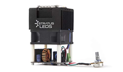 High Power 100W LED Spot Light Module DC 12V / 24V - Stratus LEDs (5600K - 12V - 80CRI - 13000 Lumens) by Stratus Productions (Image #2)