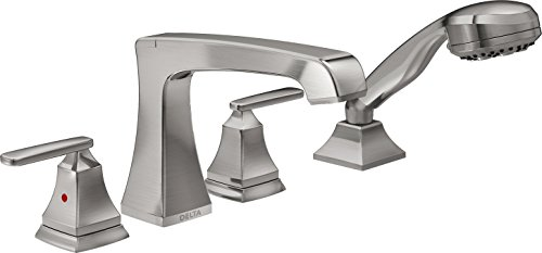 Delta Faucet T4764-SS Ashlyn Roman Tub Trim, 20.00 x 6.63 x 8.38 inches, Stainless