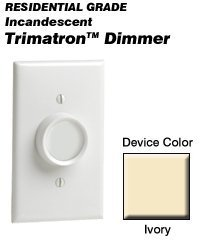 Leviton 6683-I Trimatron Incandescent Rotary Dimmer - (Trimatron Incandescent Rotary Dimmer)
