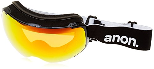 Anon M2 Snow Goggles Black With Red Solex & Blue Lagoon Lens