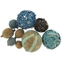 Blue & Brown Natural Decorative Sphere MixNew by: CC by CraftyCrocodile