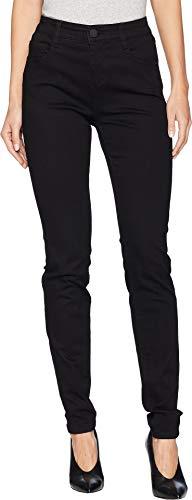 FDJ French Dressing Jeans Women's Onyx Denim Christina Slim Leg Black 10
