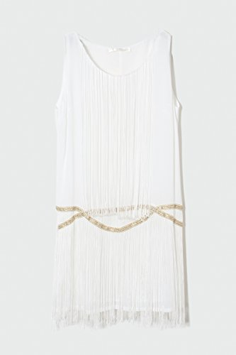 CHERRY-PARIS vestido túnica Sandrine PROMO crudo