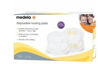 Medela Medela Disposable Nursing Pads 120 Ea By Medela (2 Pack)