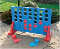 KandyToys Giant Connect Four 4 in A Row Garden Outdoor for sale  Delivered anywhere in Canada