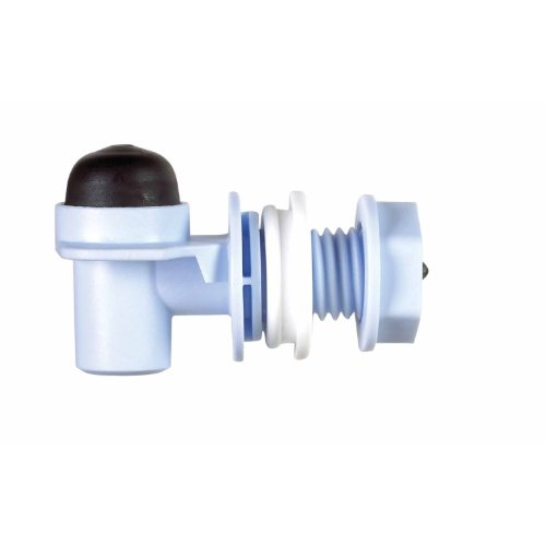 RUBBERMAID 2B8725WHT Cooler Spigot with Extension (Rubbermaid 5 Gallon Water Cooler Replacement Spigot)