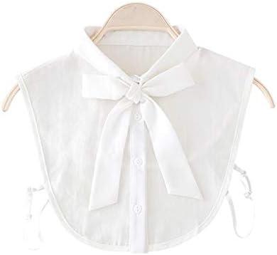 VIccoo Camisa de Cuello con Lazo para Mujer Corbata de Cuello ...