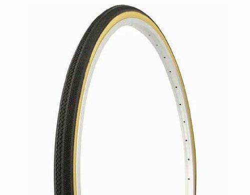 "Tire Duro 27"" x 1 1/4"" Black/Gum Side Wall HF-153. Bicycl..."