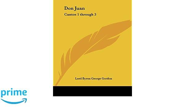 don juan canto 1