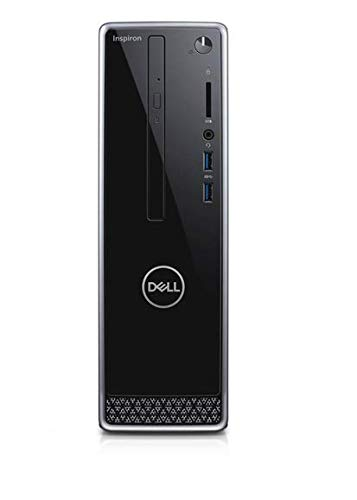 Latest_Dell Inspiron 3471 Small Desktop, 9th Gen Intel Core i3-9100 Processor, 4GB DDR4 RAM, 1TB Hard Drive, Black, HDMI,Window 10 Home (i3 Processor)