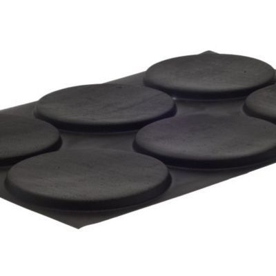 Demarle M372 L Non-Stick 6-Form Flexipan Extra-Large Rounds by Demarle (Image #2)