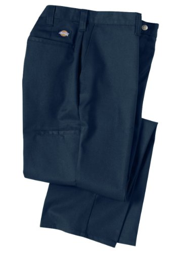 DICKIES 2112272NV-34x32 Industrial Work Pants, Twill, Navy, 34x32 (Mens Work Uniforms)