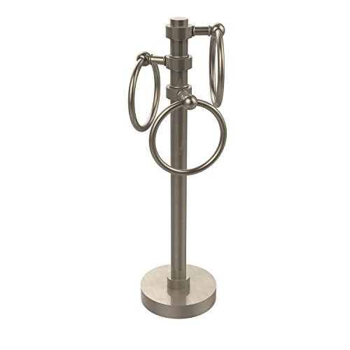 Allied Brass 983-PEW 6-Inch Towel Ring, Antique Pewter