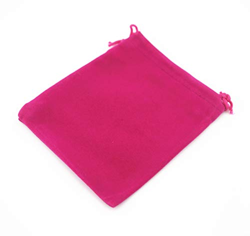 (Pack of 25 Velvet Gift Bags Drawstring Jewelry Pouches Candy Bags Wedding Favors (4.8