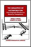 The Semantics of Incorporation 9781575864198