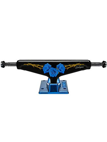 Venture Black Low P-Rod Roses - 5.2 Inch Single Skateboard Truck (Default, Blue)