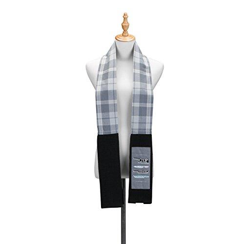 Black Chop - Chop Slice Black Extra Long Cotton Blend Over The Shoulder Kitchen Towel Boa