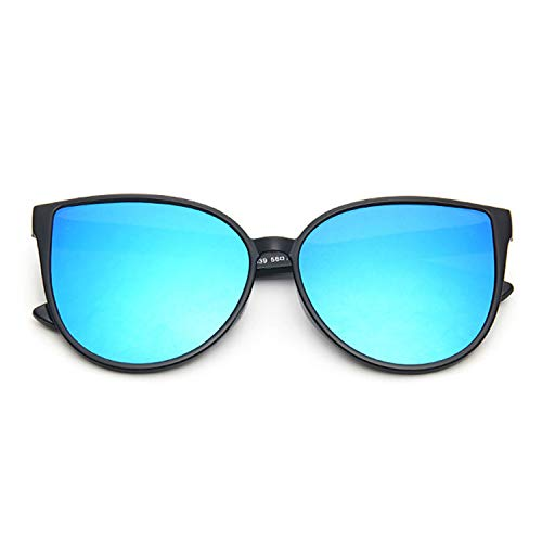 2019 New Sunglasses Women Driving Mirrors vintage For Women cat eye Reflective flat lens Sun Glasses,C3