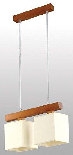Bauhaus - Lámpara de techo (Profundidad: 0,9 m max, de 2 ...