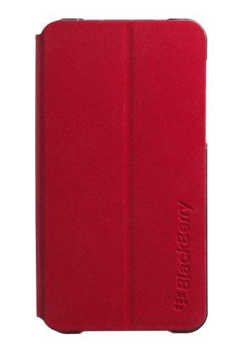 BlackBerry ACC-49284-303 RIM Flip Shell for BlackBerry Z10 - Retail Packaging - Red