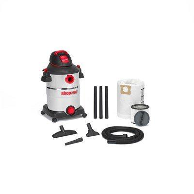 Shop-Vac 12-Gal 6 Peak HP Stainless Steel Wet/Dry Shop Vac - Corded