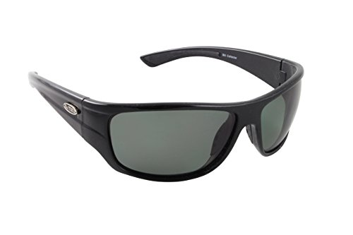 Sea Striker Bill Collector Polarized Sunglasses, Black Frame, Grey Mirror - Striker Frame