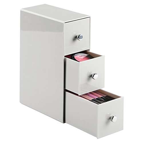 mDesign 3 Drawer Cosmetic Organizer Products product image