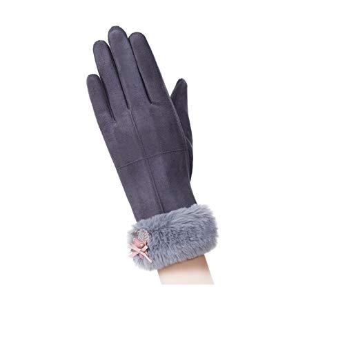 Grigio Screen Women Warm Winter Gloves Touch Velvet Amdxd Velvet Outdoor zwSOB
