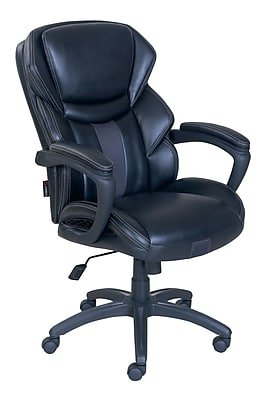Brilliant Dormeo Espo Octaspring Bonded Leather Managers Office Chair Fixed Arms Black Ocoug Best Dining Table And Chair Ideas Images Ocougorg