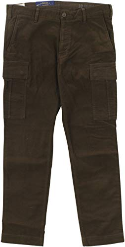 Ralph Lauren Polo Men's Straight-Leg Cargo Pants 34W x 34L Brown ()
