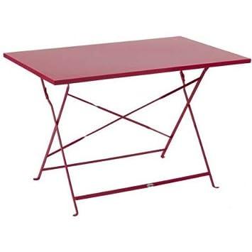 Hespéride Table rectangulaire Pliante 110x70cm Camargue ...