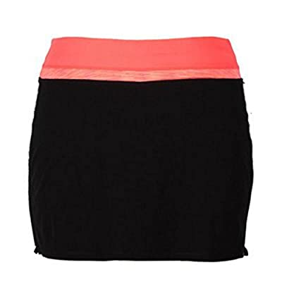 Tangerine Ladies Size 2XL Active Skort with Drawstring Coral