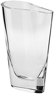Krosno Clear Glass Handmade Oslo Vase 8