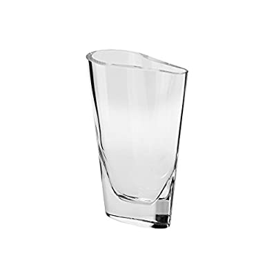 Krosno Clear Glass Handmade Oslo Vase 8 -  - vases, kitchen-dining-room-decor, kitchen-dining-room - 31wcGPZfS8L. SS400  -