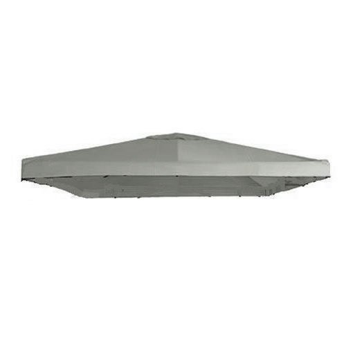 Universal 10' x 10' Single Tiered Replacement Gazebo Canopy - RipLock 350 - Slate Gray (Single Tiered)