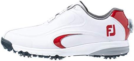 ゴルフシューズ FJ ULTRA FIT XW Boa メンズ ホワイト/レッド(19) 24.5 cm 4E 54182J