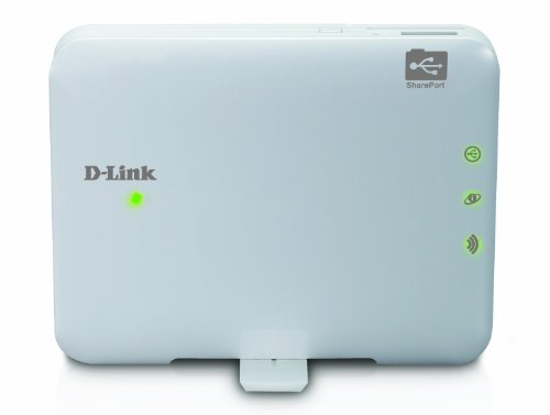 D-Link SharePort Go Mobile Companion with Rechargeable Battery (DIR-506L) (D-link Router Travel)