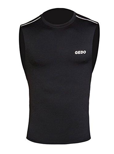 Gedo CAT001 - Camiseta sin Mangas Unisex, Color Negro, Talla ...