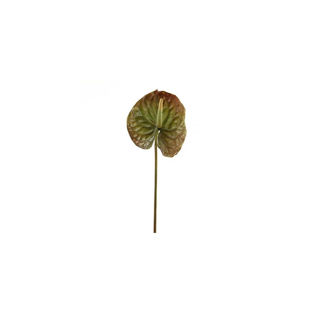 Shinoda-Design-Center-275-Faux-Green-Anthurium-Stem-2pc-Set