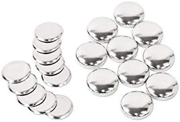 18mm くるみボタン 足なしタイプ セット 10個 4パッケージセット ※くるみボタン打ち具は別売