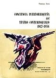 img - for Conciencia puertorrique a del teatro contempor neo 1937-1956. book / textbook / text book