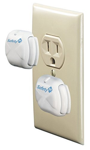 Safety 1st Deluxe Press Fit Outlet Plugs, 32 Count by Safety 1st