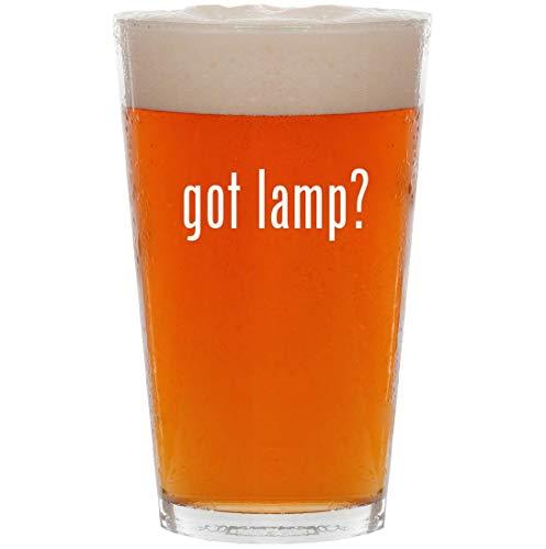 got lamp? - 16oz All Purpose Pint Beer Glass
