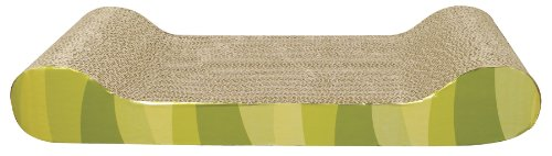 Catit Style Scratcher with Catnip Jungle-Stripe Lounge