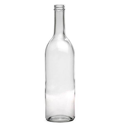 E.C. Kraus 750 Ml Clear Wine Bottles, Screw Cap Finish ()