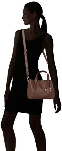French Women's Heavyp Misatchem Handbag Berlin Roast Liebeskind 8720 Brown xvPn66