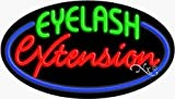 Eyelash Extension Neon Sign - 17 x 30 x 2 inches - Made in USA