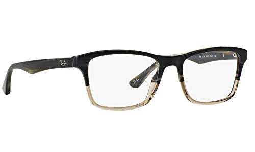 Ray-Ban RX5279 5540 Eyeglasses Grey Horn Gradient Transparent Grey Frame 55mm. (Ray Ban Eyeglasses Made In Italy)