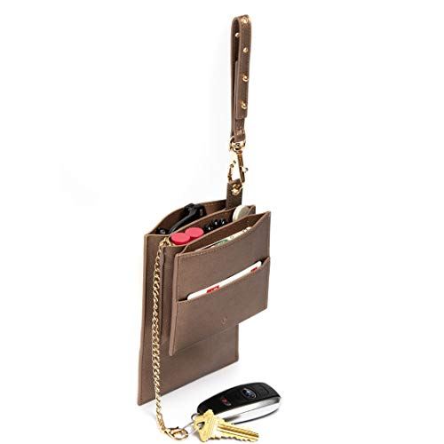 Bag Branch Daily Essentials Organizer Handbag Insert -Add 5 Pockets To Any Purse ()